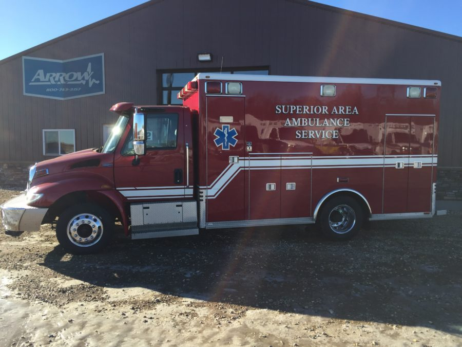2006 International 4300 Heavy Duty Ambulance