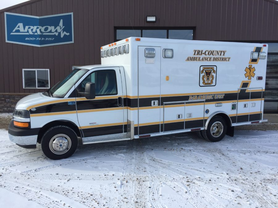 2015 Chevrolet G4500 Type 3 Ambulance