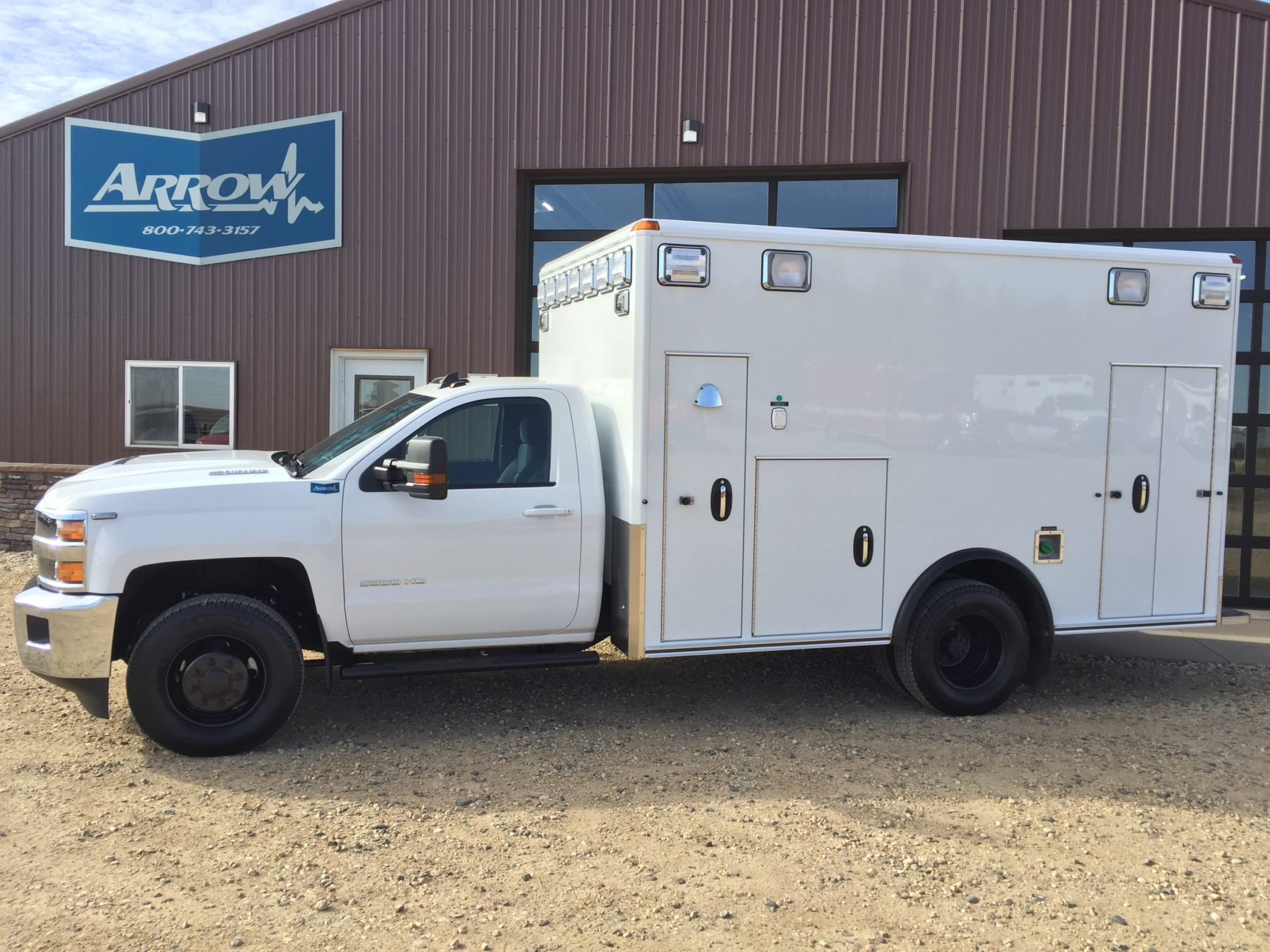 2019 Chevrolet K3500 4x4 Type 1 Ambulance For Sale – Picture 2