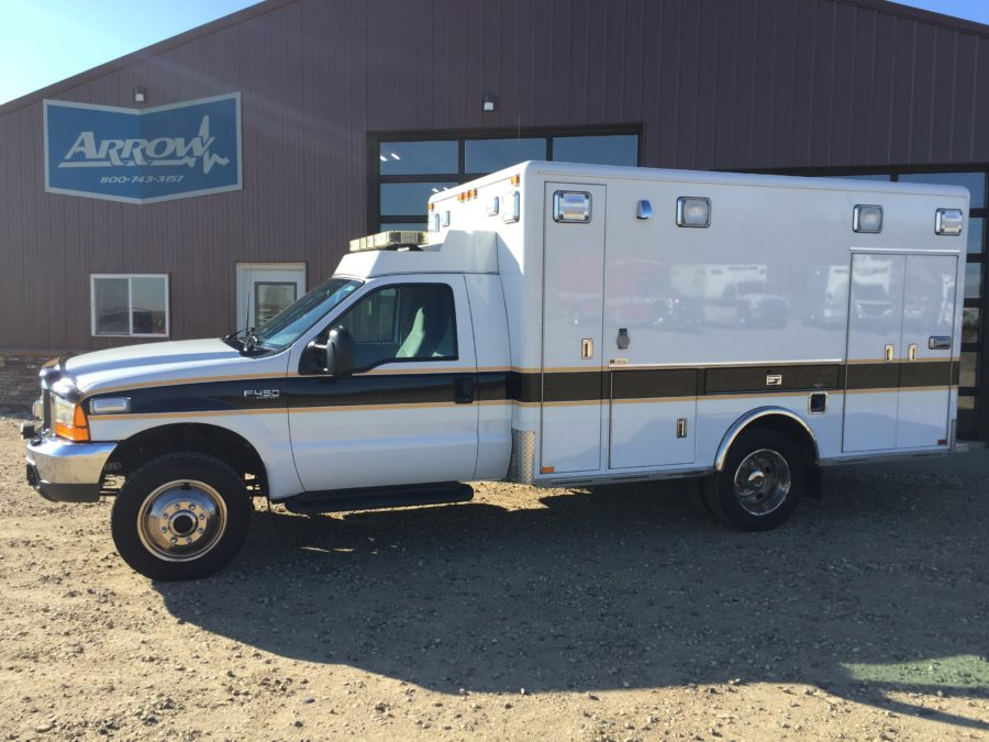 2000 Ford F450 4x4 Heavy Duty Ambulance For Sale