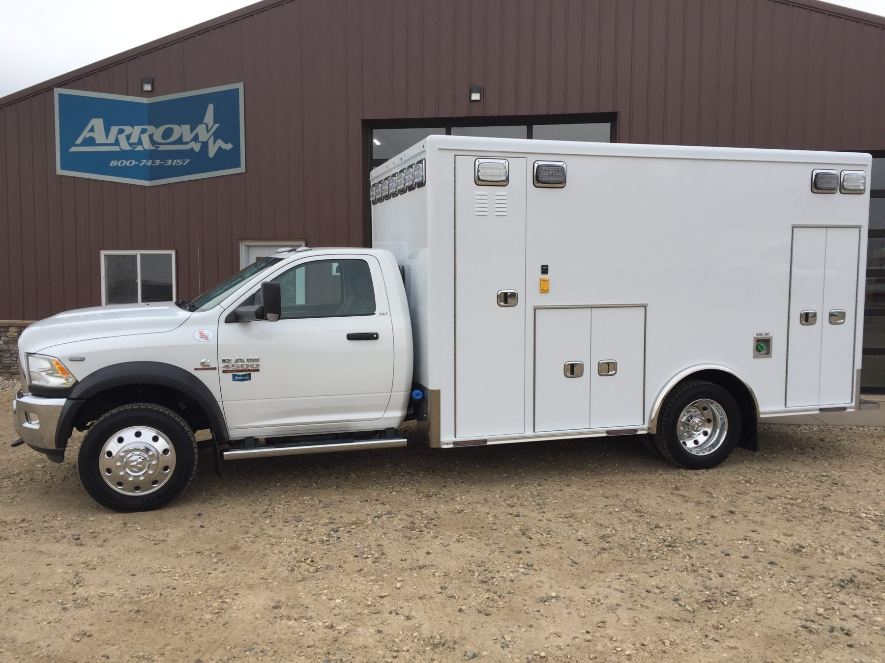 2018 Ram 4500 4x4 Heavy Duty Ambulance For Sale – Picture 1