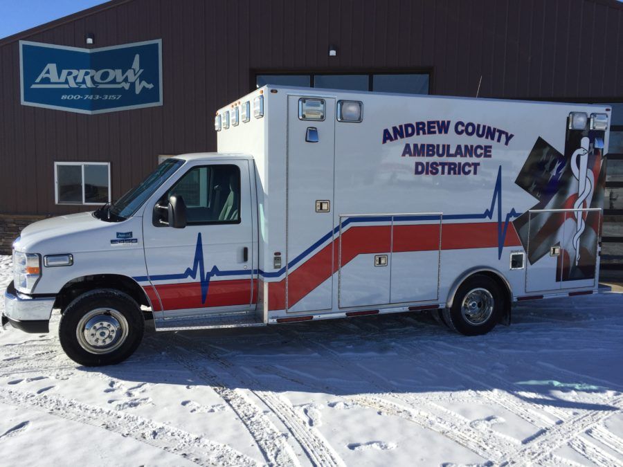 2017 Ford E450 Type 3 Ambulance