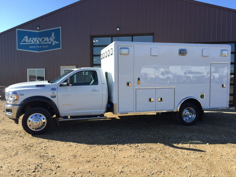2019 Ram 4500 4x4 Heavy Duty Ambulance For Sale