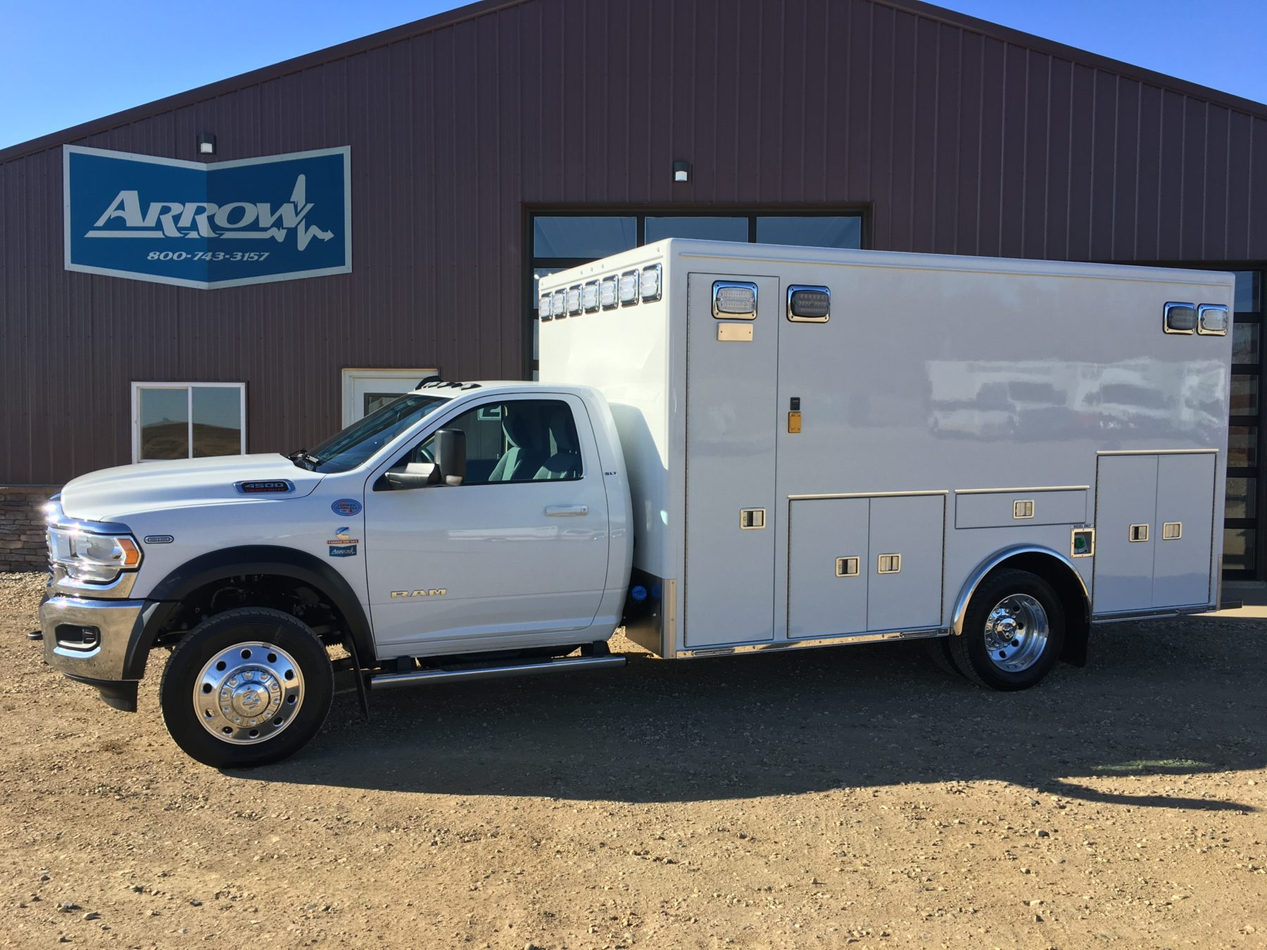 2020 Ram 4500 4x4 Heavy Duty Ambulance For Sale – Picture 4