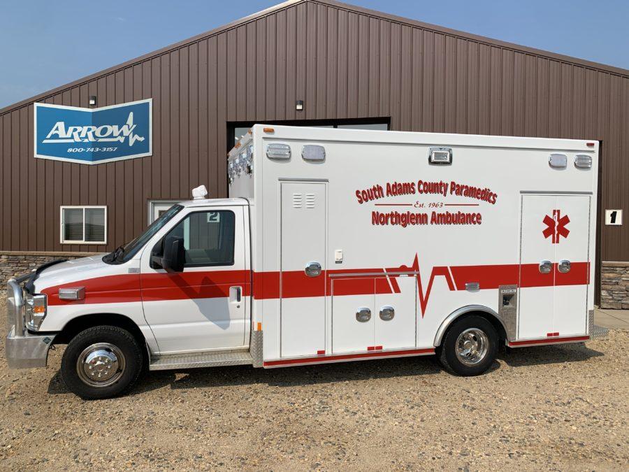 2011 Ford E450 Type 3 Ambulance delivered to Northglenn Ambulance in Northglenn, CO