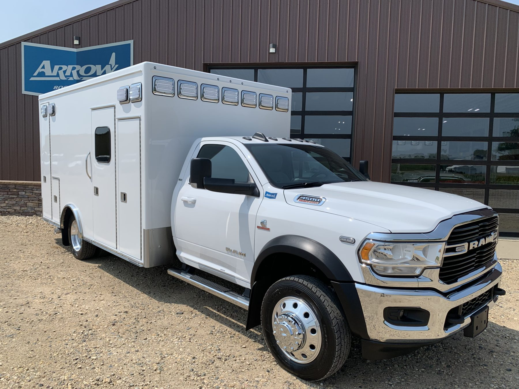 2021 Ram 4500 4x4 Heavy Duty Ambulance For Sale – Picture 4