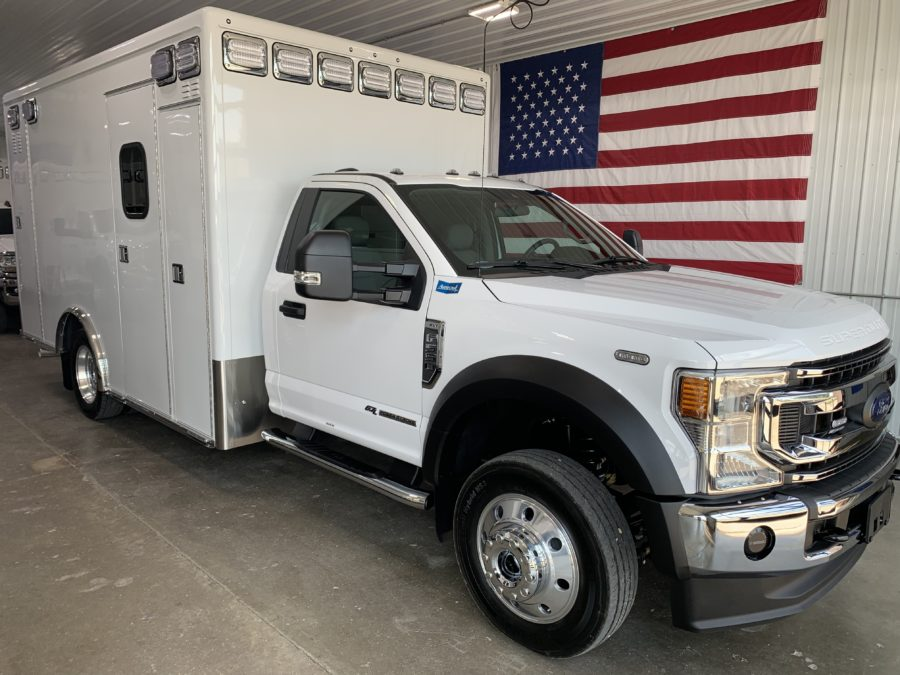2021 Ford F550 4x4 Heavy Duty Ambulance For Sale – Picture 1