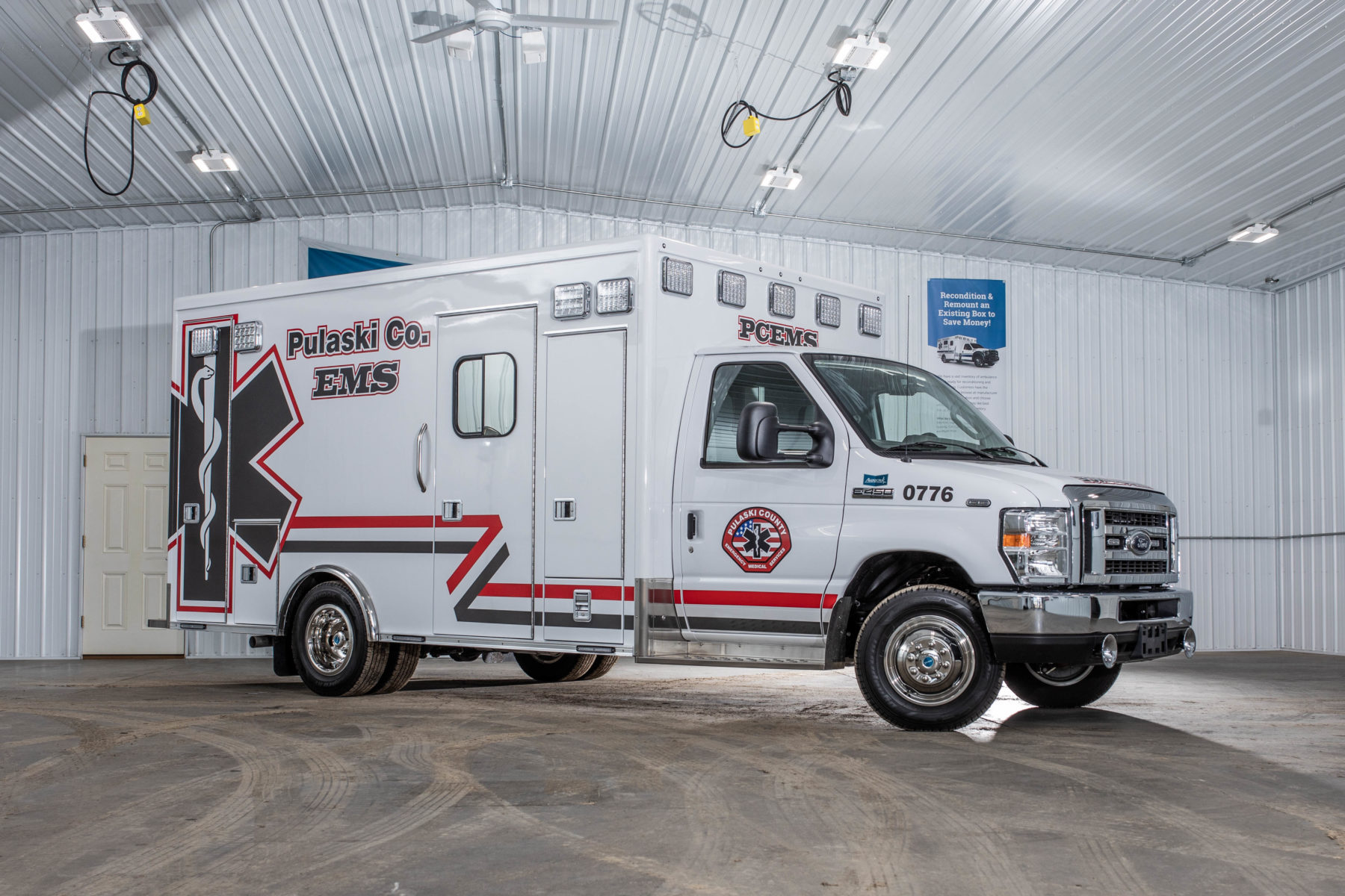 2019 Ford E450 Type 3 Ambulance For Sale – Picture 1