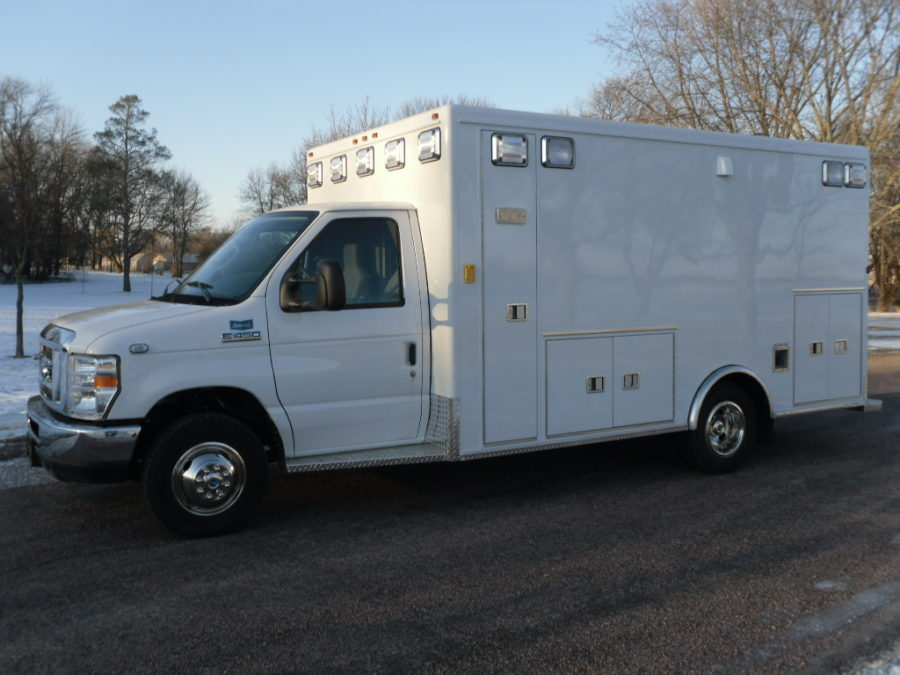 2012 Ford E450 Type 3 Ambulance delivered to Ireton Rescue in Ireton, IA