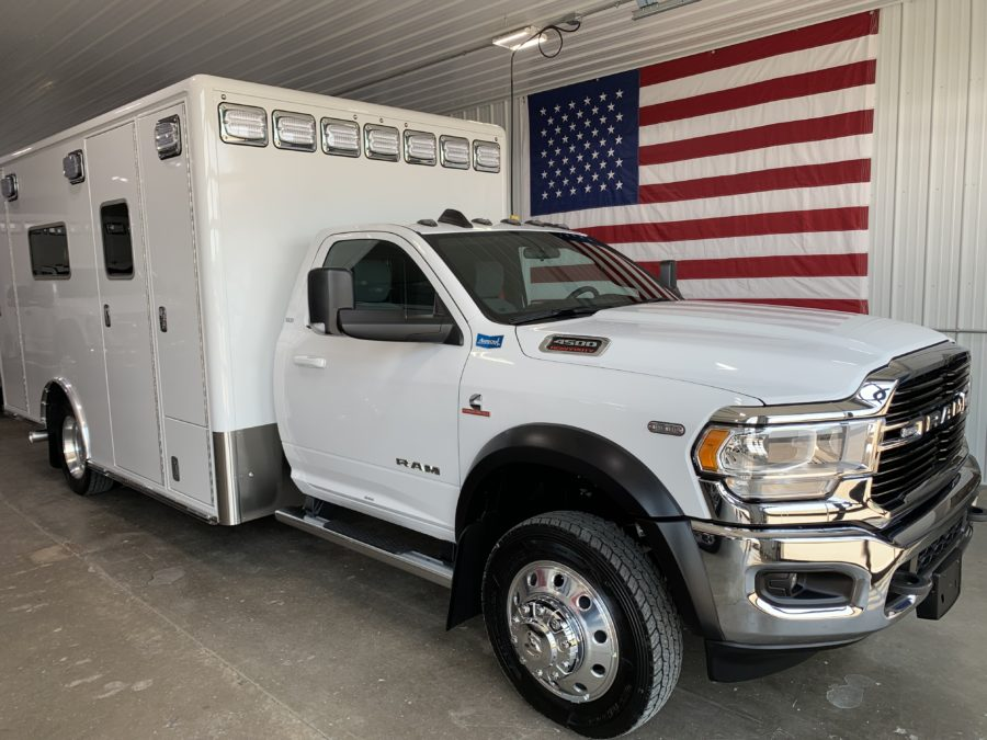 2021 Ram 4500 4x4 Heavy Duty Ambulance For Sale – Picture 1