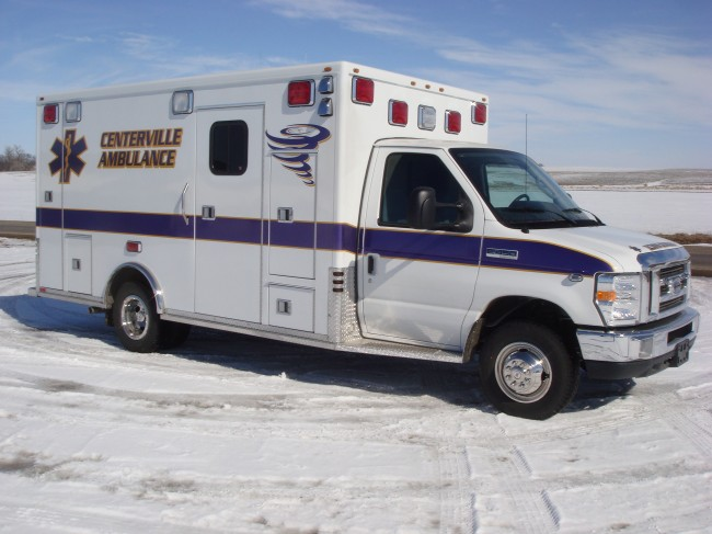 Ambulance delivered to Centerville Community Ambulance