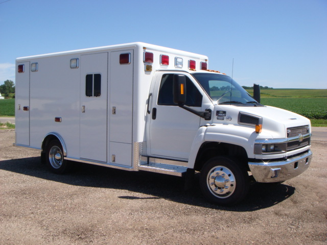 2008 GMC C4500 Heavy Duty Ambulance