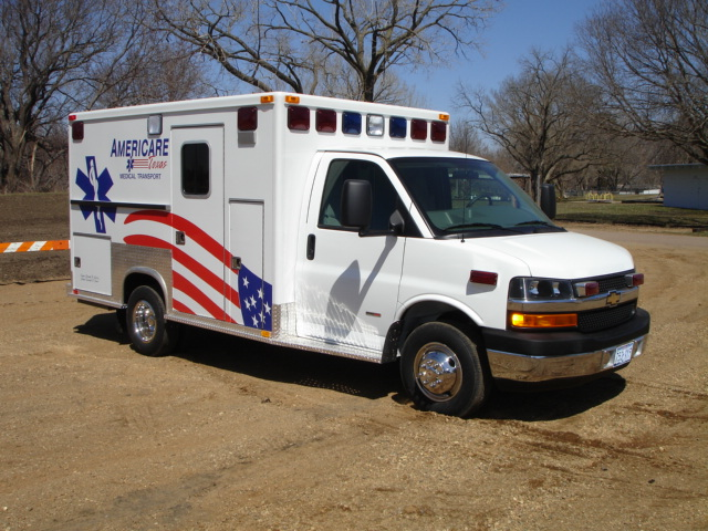 2007 GMC G3500 Type 3 Ambulance