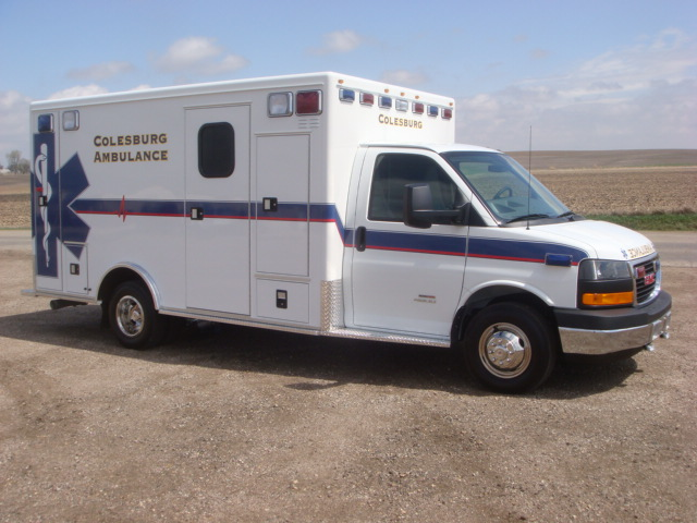 2010 GMC G4500 Type 3 Ambulance