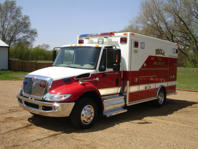 2008 International 4400 Heavy Duty Ambulance