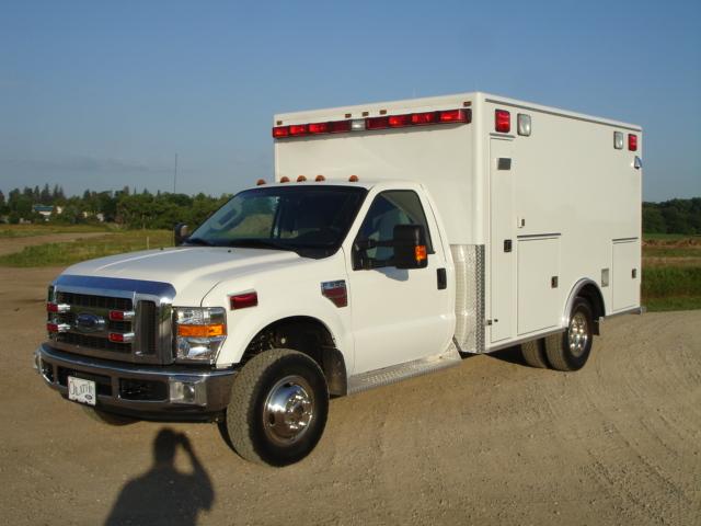 2008 Ford F350 Type 1 Ambulance