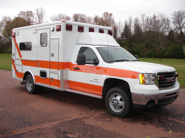 2008 GMC K3500 Type 1 Ambulance