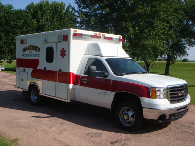2009 GMC K3500 Type 1 Ambulance