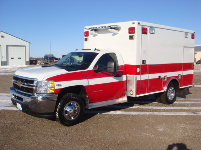 2009 Chevrolet K3500 Type 1 Ambulance