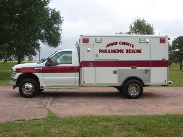 2009 Ford F350 Type 1 Ambulance