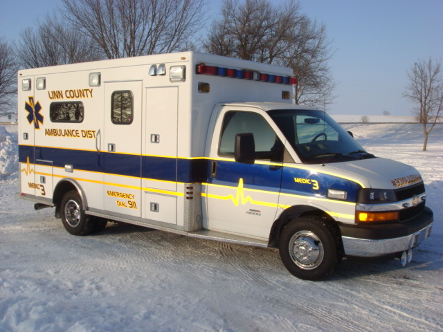 2009 Chevrolet G4500 Type 3 Ambulance