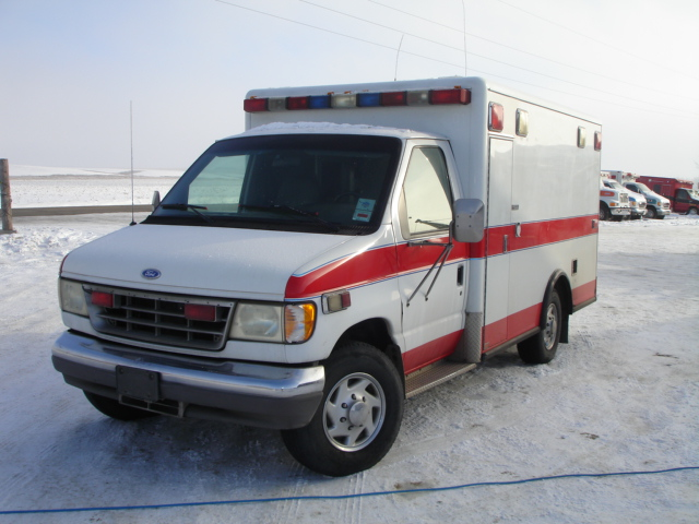 2008 Ford E350 Type 3 Ambulance