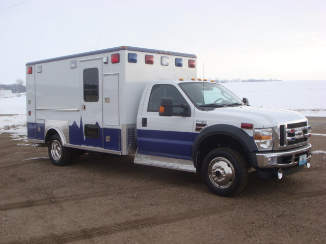 2008 Ford F450 Heavy Duty 4x4 Ambulance