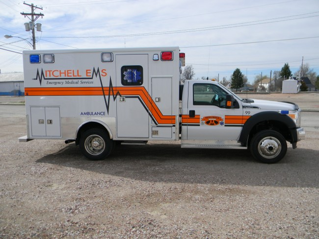Ambulance delivered to Mitchell Volunteer Fire Department