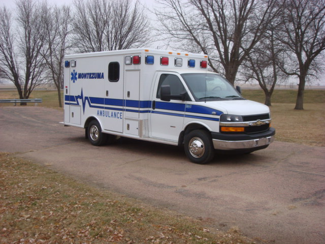 2010 Chevrolet G3500 Type 3 Ambulance