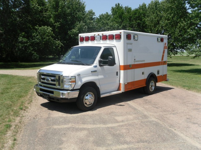 2009 GMC G3500 Type 3 Ambulance