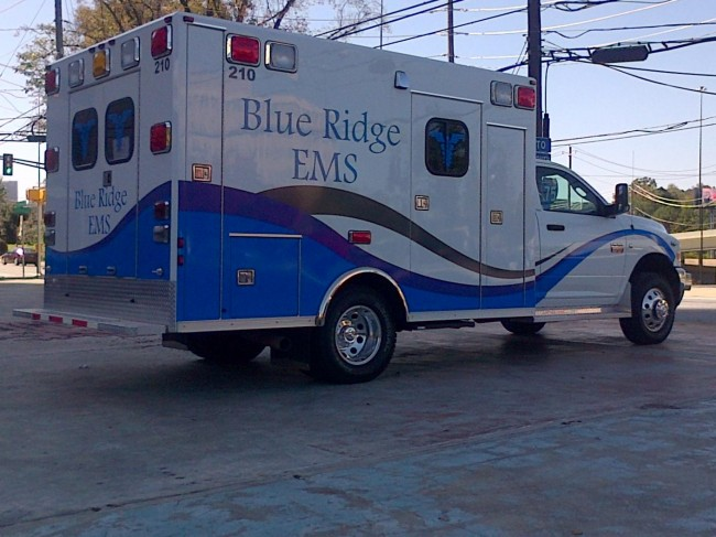 2011 Ram 3500 Type 1 4x4 Ambulance