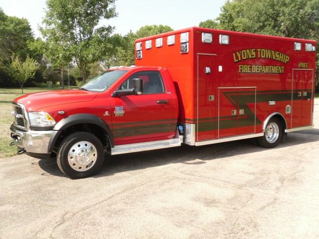 2012 Ram 4500 Heavy Duty 4x4 Ambulance