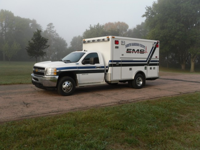 2012 Chevrolet K3500 Type 1 4x4 Ambulance