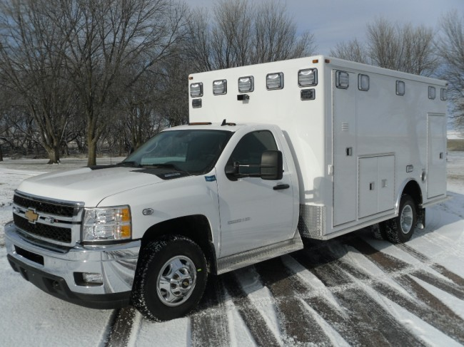2013 Chevrolet K3500 Type 1 4x4 Ambulance