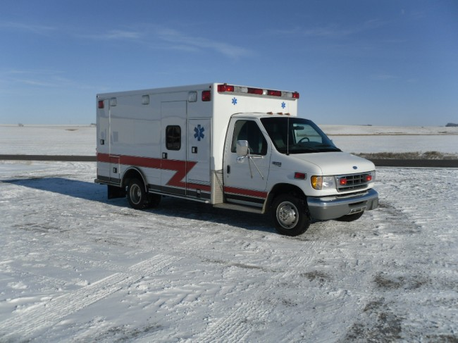1997 Ford E450 Type 3 Ambulance
