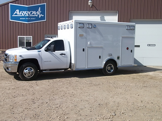 2013 Chevy K3500 McCoy Miller Type 1 4x4 Ambulance For Sale