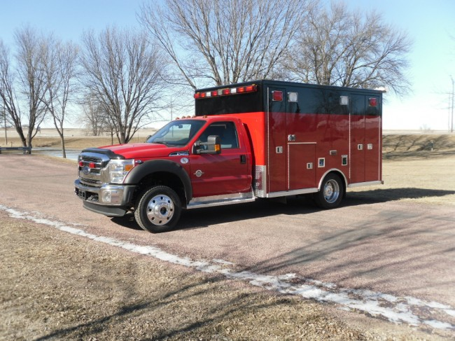 2013 Ford F450 Heavy Duty 4x4 Ambulance