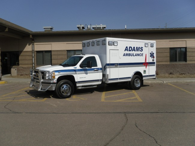 2008 Ram 3500 Type 1 Ambulance