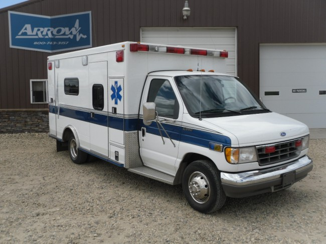 1995 Ford E350 Road Rescue Type 3 Ambulance For Sale