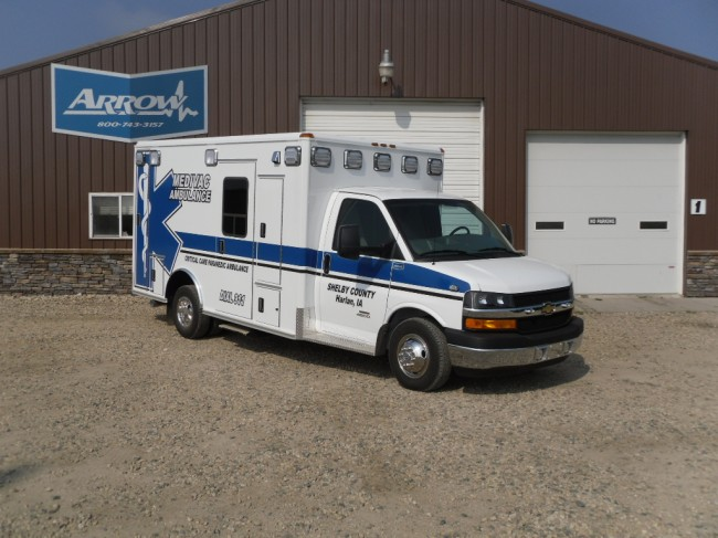 2013 Chevrolet G4500 Type 3 Ambulance