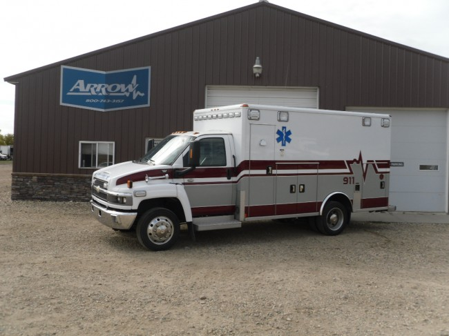2008 Chevy C4500 Wheeled Coach Heavy Duty Ambulance For Sale