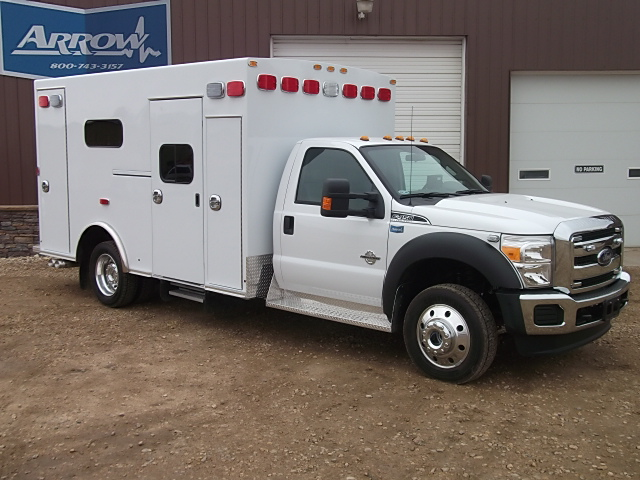 2014 Ford F450 Braun Type 1 4x4 Ambulance For Sale