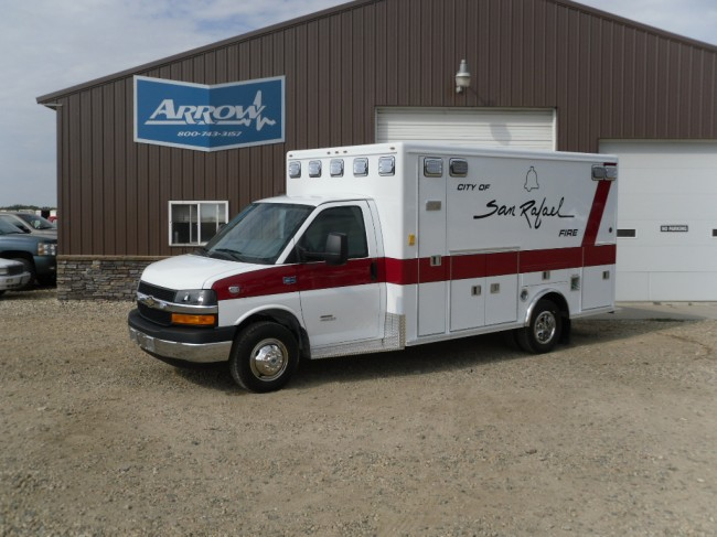2011 Chevrolet G4500 Type 3 Ambulance
