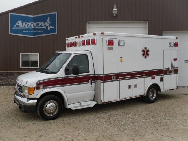 2005 Ford E450 Medtec Type 3 Ambulance For Sale