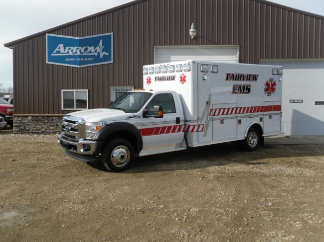 2014 Ford F450 Heavy Duty 4x4 Ambulance