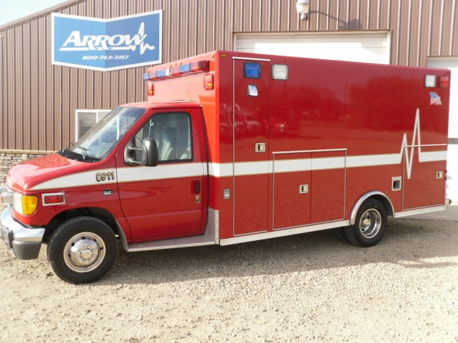 2004 Ford E450 Osage Type 3 Ambulance For Sale