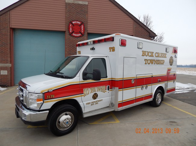 2013 Ford E450 Type 3 Ambulance
