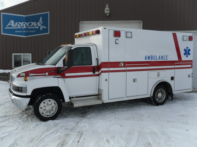 2004 Chevy C4500 Osage Heavy Duty Ambulance For Sale
