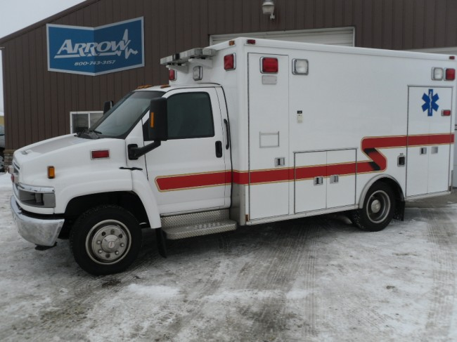2004 Chevy C4500 Medtec Heavy Duty Ambulance For Sale