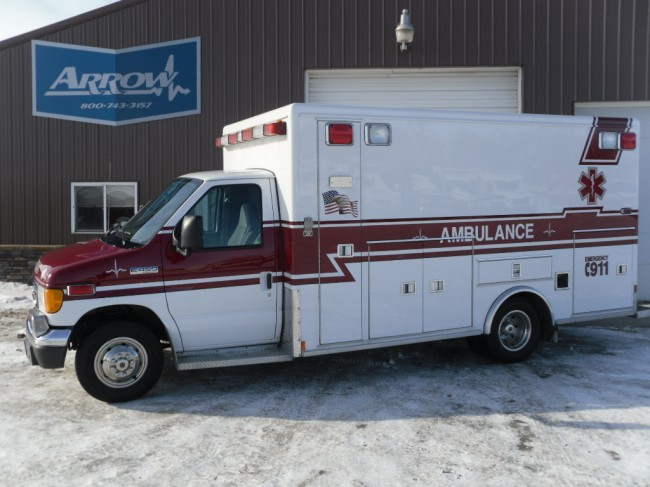 2006 Ford E450 McCoy Miller Type 3 Ambulance For Sale